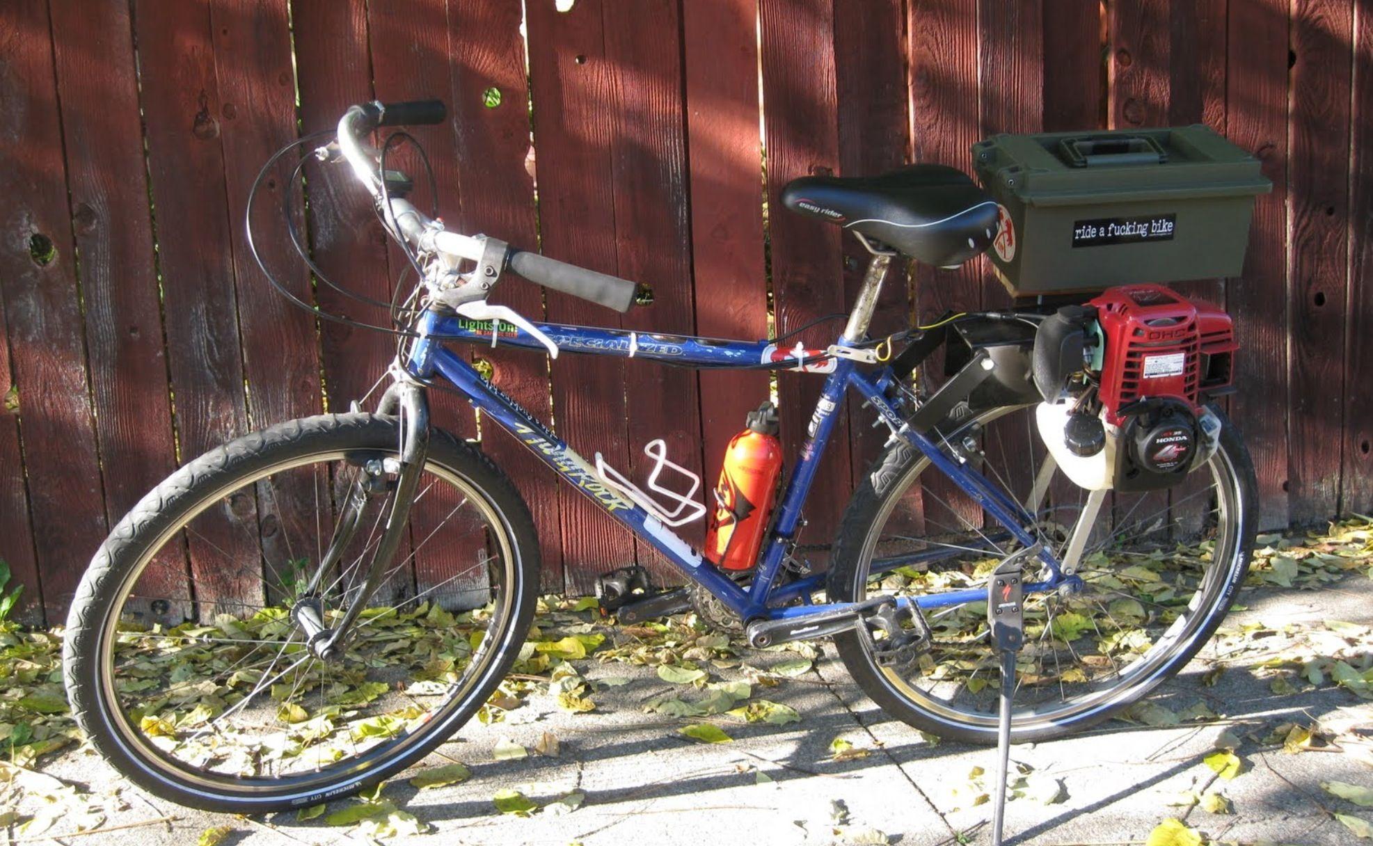 Bicycle Honda Gx25 Mini 4 Stroke Engine Pinterest