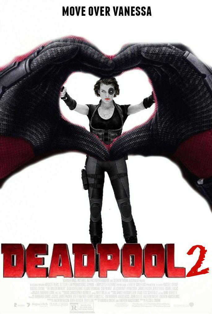 deadpool 2 fan made movie poster by thedarkrinnegan deviantart com on deviantart