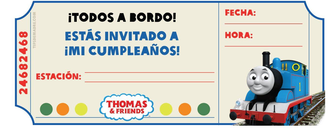 Cumpleaños con el tren Thomas y sus amigos   thomas y sus amigos ...