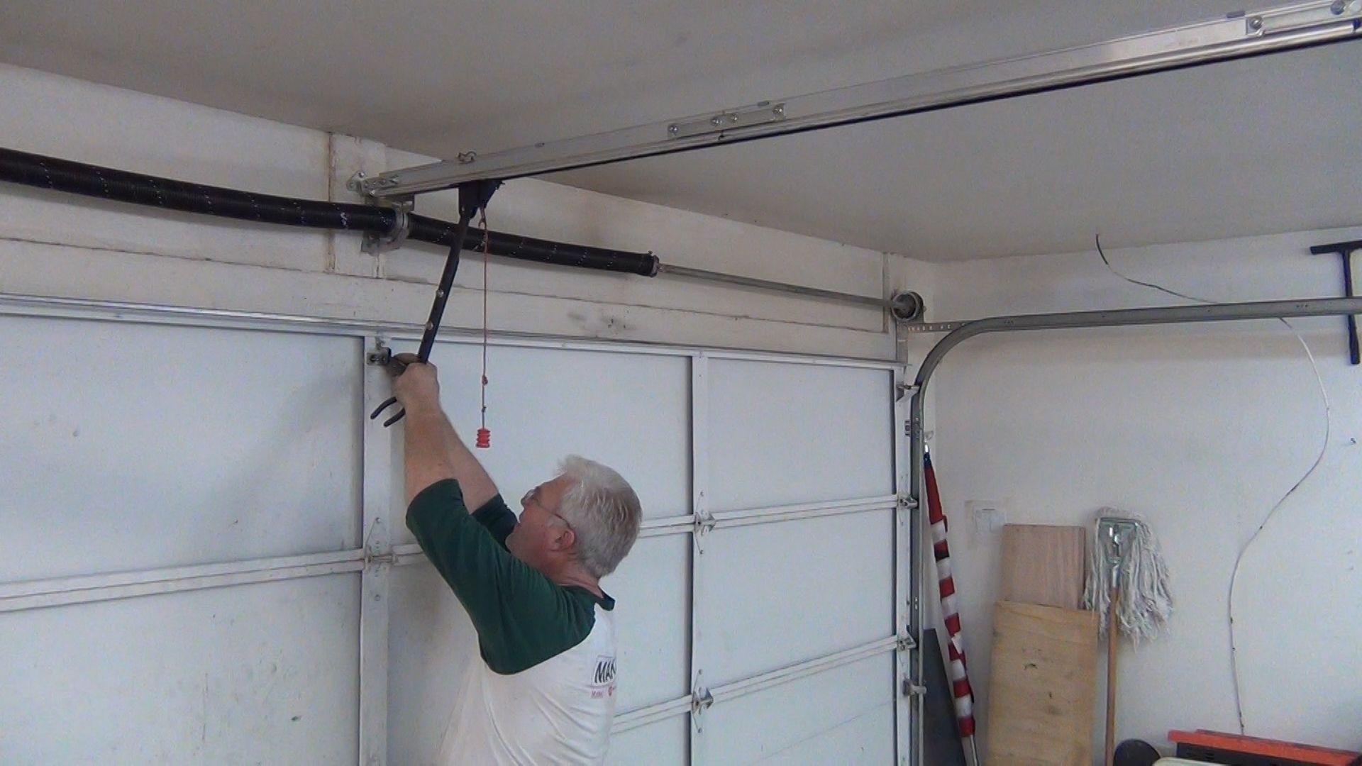 Garage Door Openers How To Change Bottom Roller Garage Door