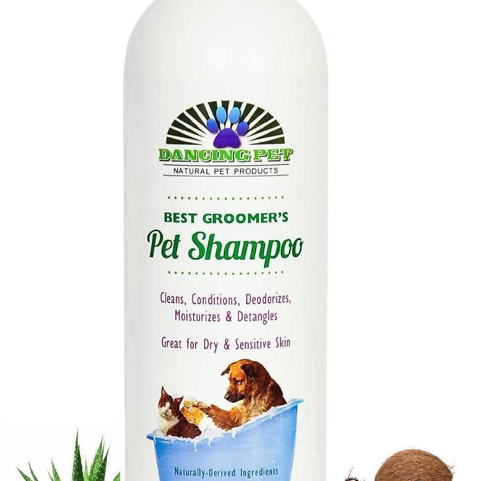 Dancing Pet Natural Pet Shampoo & Conditioner For Dog Cat Dandruff Itching Allergies Sensitive Dry Skin - Soap-free All in One Condition Moisturize Detangle Odor Smells Good Yorkie Poodle Retriever Maltese Rottweiler - Guaranteed - 16 Oz http://amzn.to/2amChG1 #DancingPetNaturals