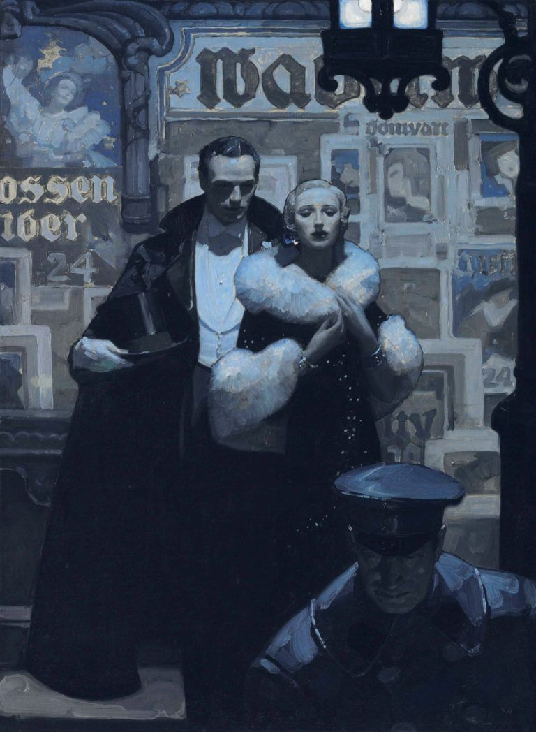 The Art of the Post: Mead Schaeffer — The Painter