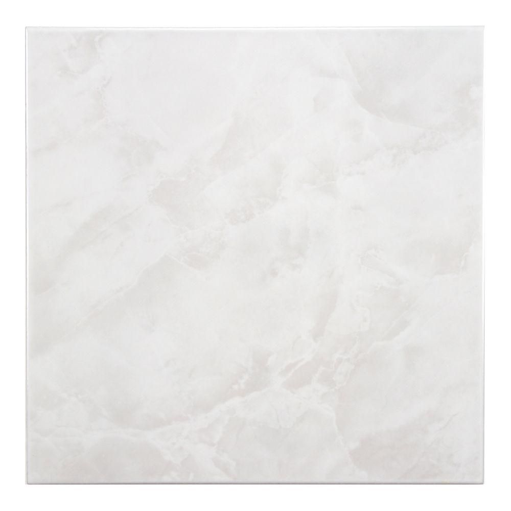 Merola Tile Gamma White 11 3 4 In X 11 3 4 In Ceramic Floor And Wall Tile 11 Sq Ft Case Ftc12gwh The Home Depot Ceramic Floor Flooring Tile Floor