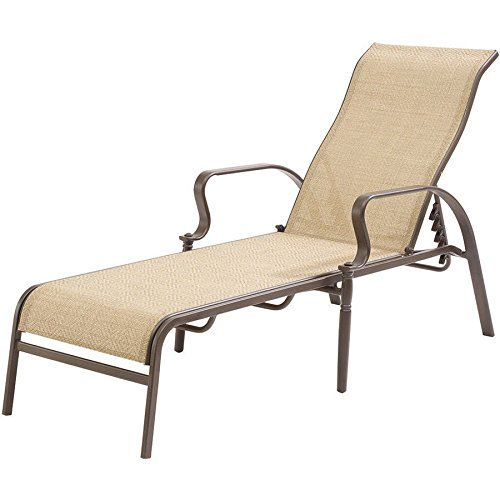 Special Offers Wesley Creek Sling Chaise Lounge Tan