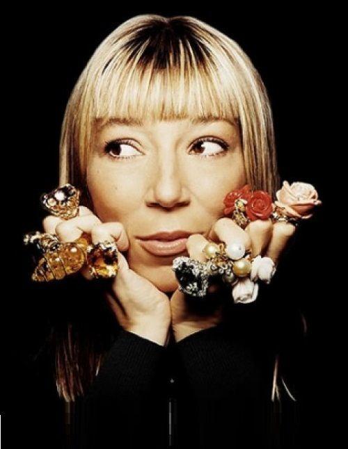 French jewellery designer Victoire de Castellane DIORDE