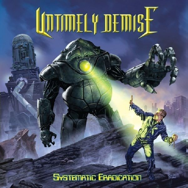 UNTIMELY DEMISE ‎– Systematic Eradication CD Album THRASH DEATH METAL VOIVOD