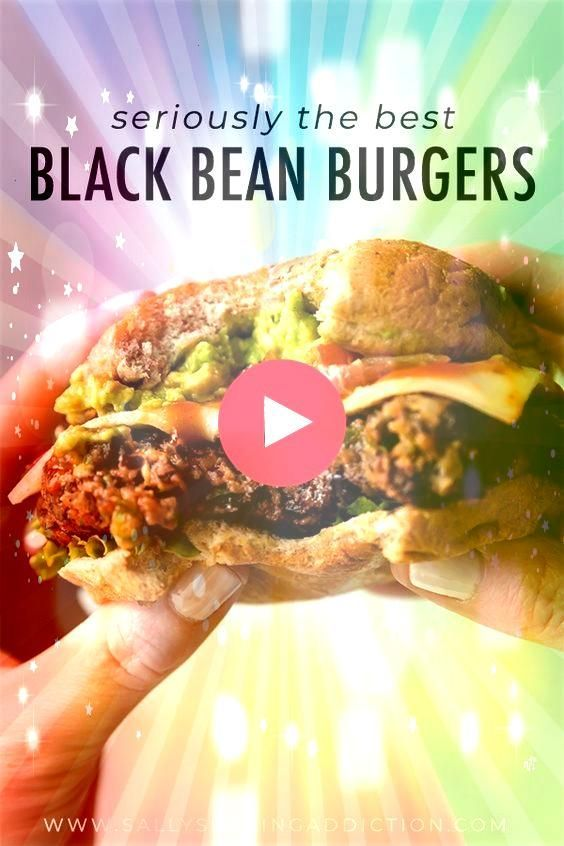 black bean burgers grilled or baked Meat lovers went crazy for these  The BEST black bean burgers grilled or baked Meat lovers went crazy for these  The BEST black bean b...