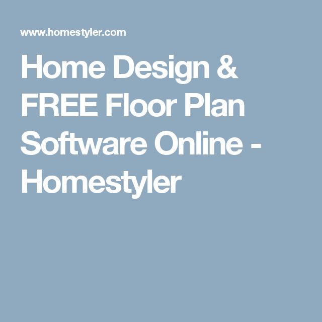 Home Design U0026 FREE Floor Plan Software Online   Homestyler