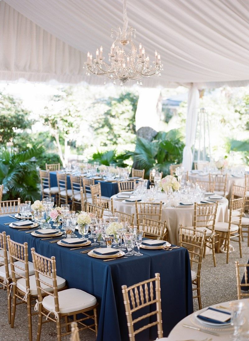 Gold Chiavari Chairs Wedding Navy White   Google Search