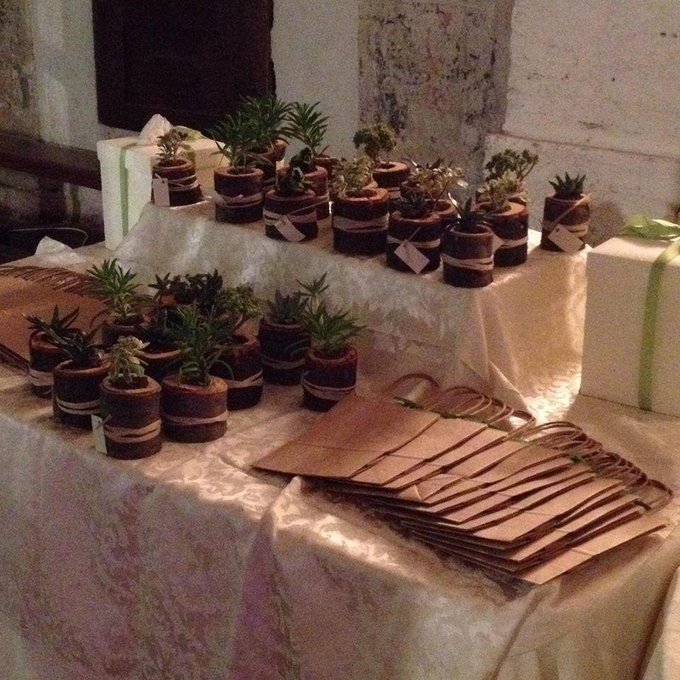 Green Wedding - Wedding Favours