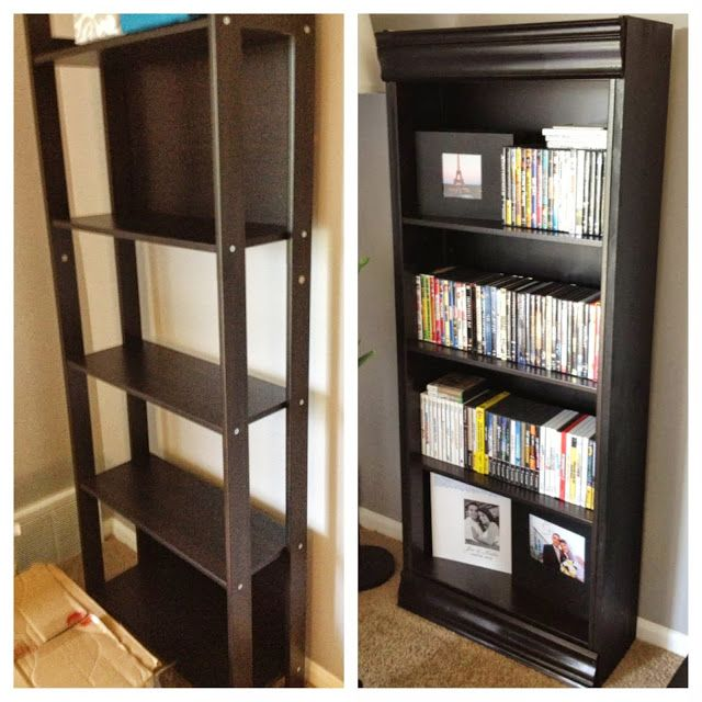 Ikea Hackers Laiva Bookcase Turned Fancy