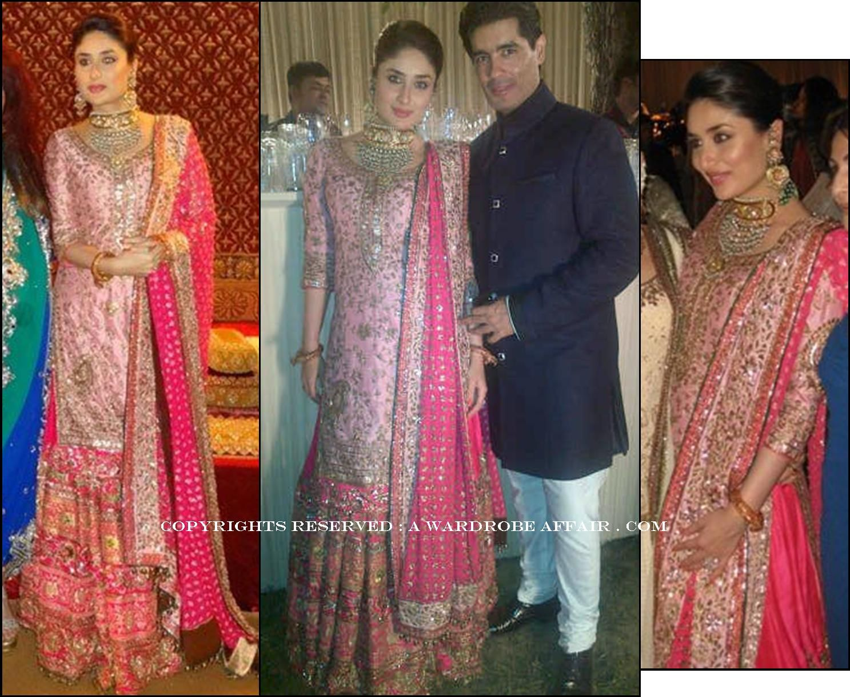 Kareena Kapoor At Her Walima Kareena Kapoor Wedding Indian Wedding Dress Fashion