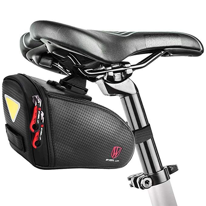 Bike Seat Bag Bicycle Saddle Bag Under Seat Waterproof Wedge