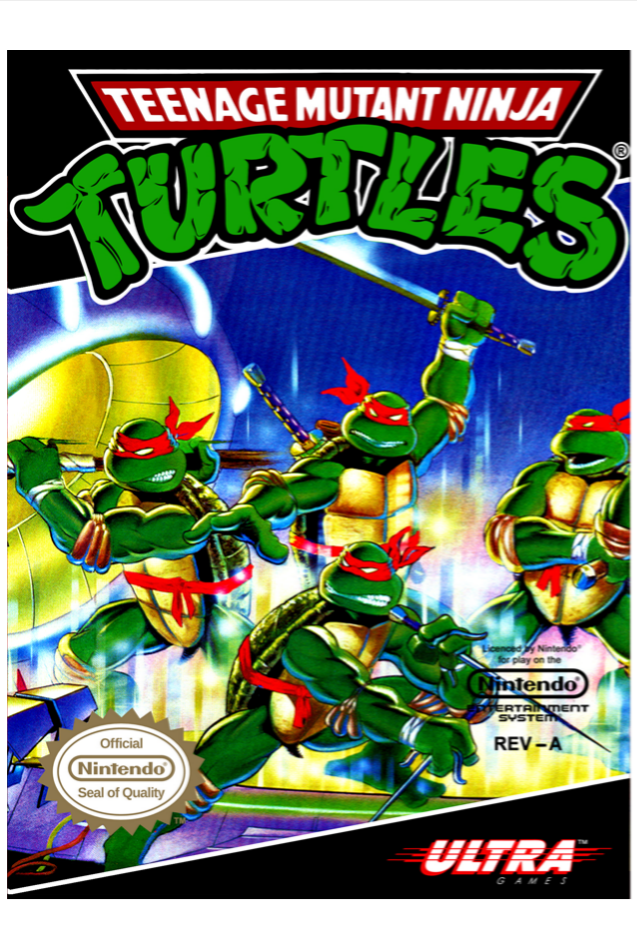 Teenage Mutant Ninja Turtles Tmnt video game, Ninja