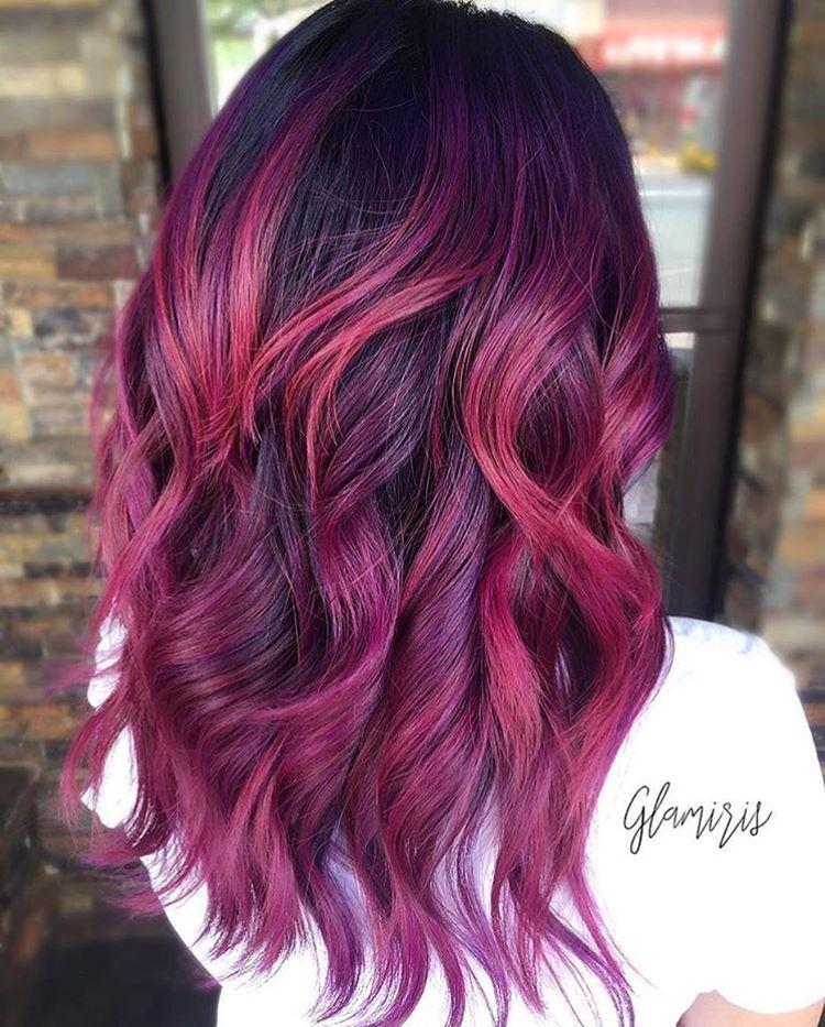 Фиолетовый цвет хочет секса