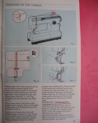 Frister  Rossmann Cub    Sewing Machine Instruction Manual
