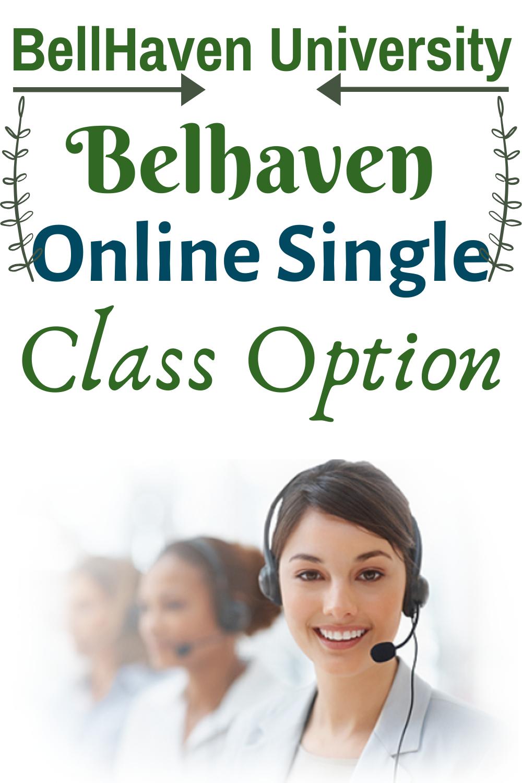 Belhaven Online Single Class Option in 2020 Online high