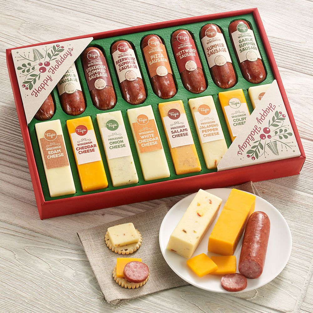 best sausage and cheese gift baskets