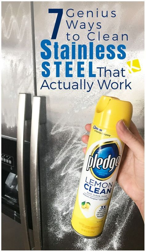 7 Ways to Clean Stainless Steel You've Never Heard Before Cleaning Stainless Steel Appliances