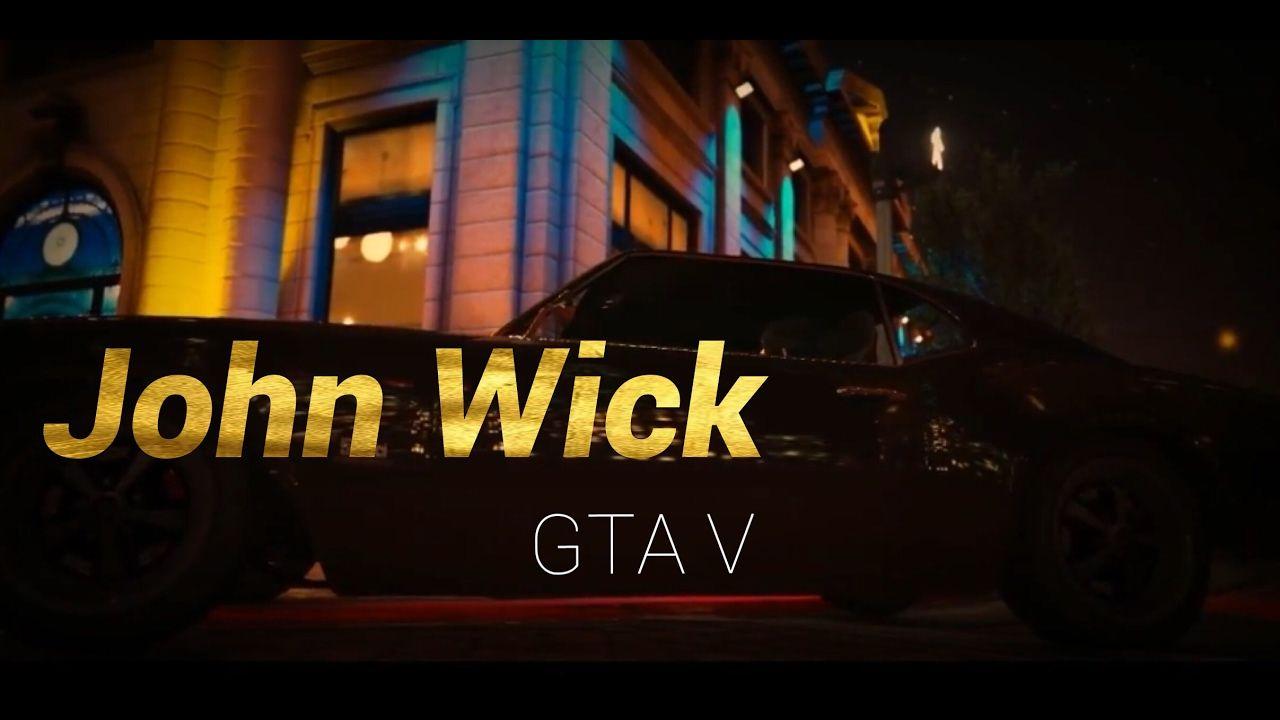 John Wick [Rockstar Editor] #GrandTheftAutoV #GTAV #GTA5 #GrandTheftAuto #GTA #GTAOnline #GrandTheftAuto5 #PS4 #games