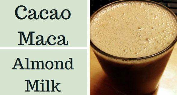 Cacao Maca Almond Milk