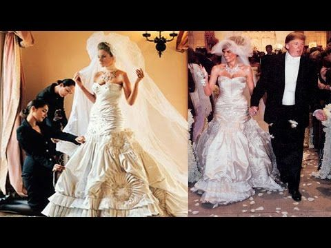 F Bz Trump Wedding Melania Trump Wedding Ivanka Trump Wedding Dress