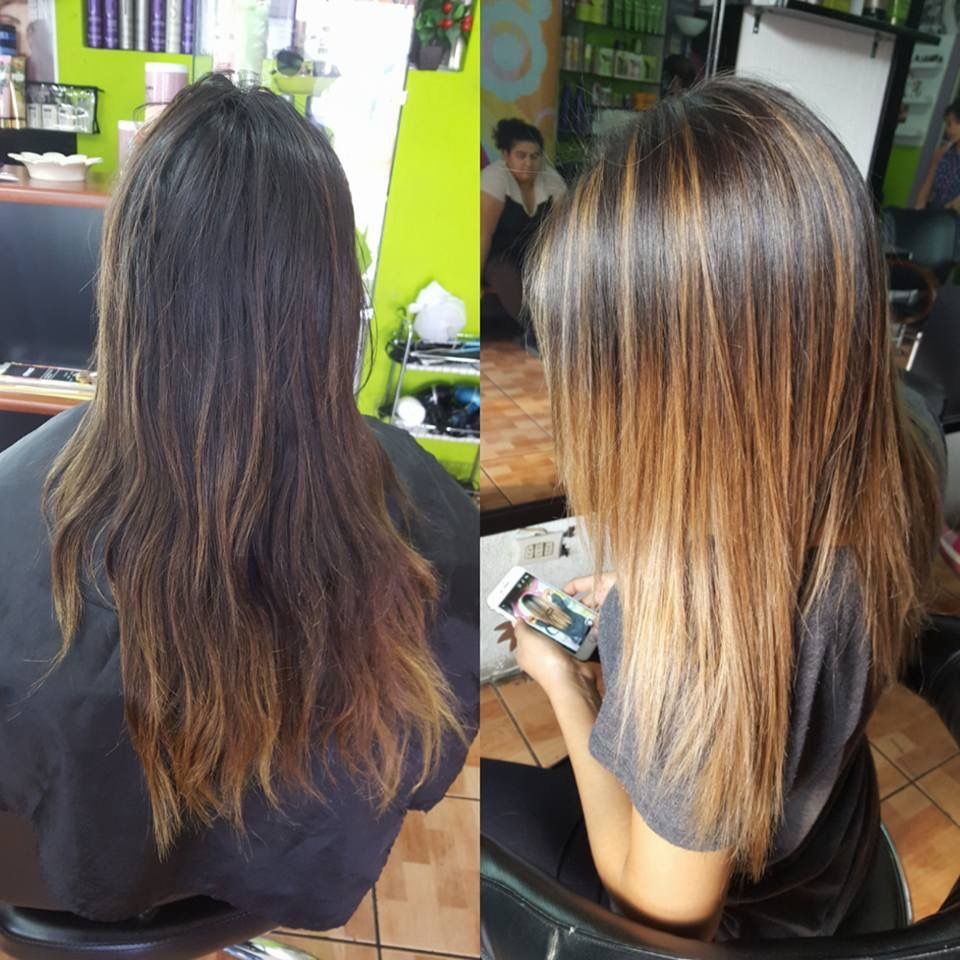 Fall hair trend... Brunette hair with caramel babylight | Hair by ... for Baby Light Hair Trend  45ifm