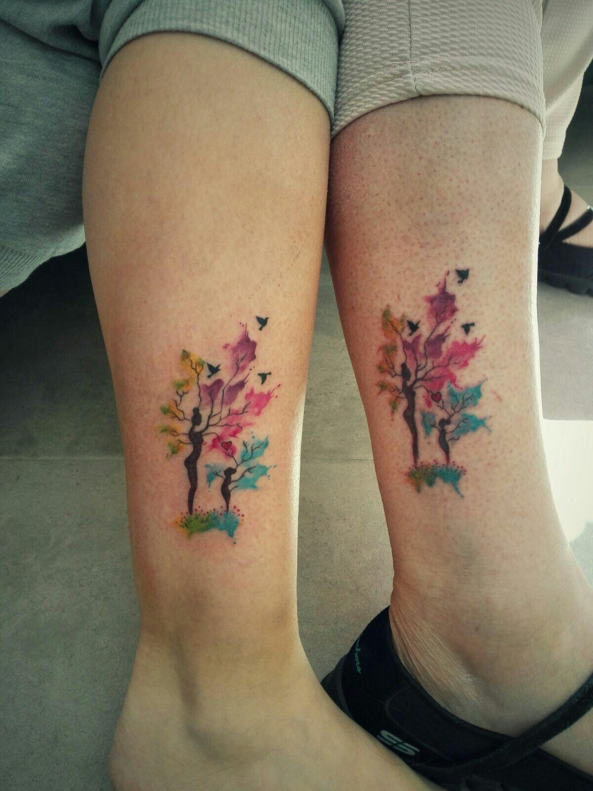 Tatuaje De Madre E Hija Uñas Tatuaje Mama E Hija Tattoos Madre