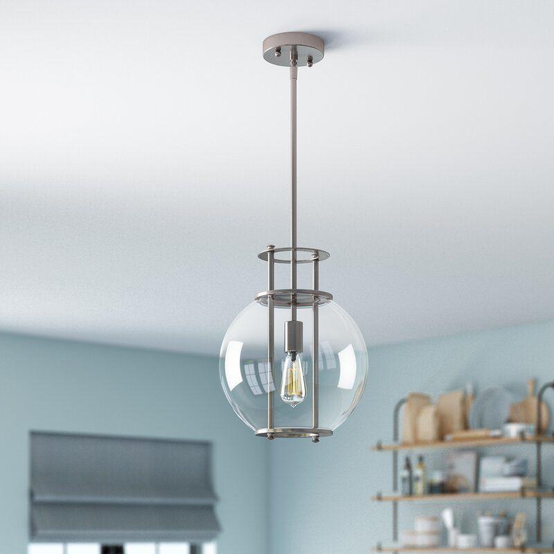 Wrought Studio Shehan 1 Light Single Globe Pendant Reviews Wayfair Ca Globe Pendant Globe Lights Wrought