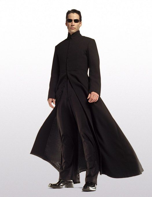 22a85a783 Neo from the Matrix. This is another outfit I could wear every day ...