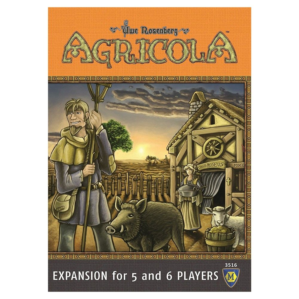 Mayfair Games Agricola Game Expansion for 5 and 6 Players