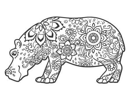 Pin By Gayla Lucky On Hippo Hippo Tattoo Hippo Drawing Fiona The Hippo
