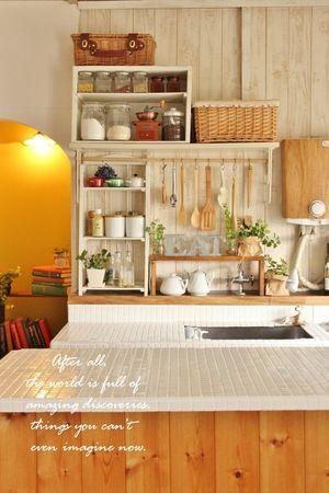 古い団地 賃貸のおしゃれインテリア生活実例集 Naver まとめ Vintage Kitchen Decor Kitchen Interior Home Kitchens