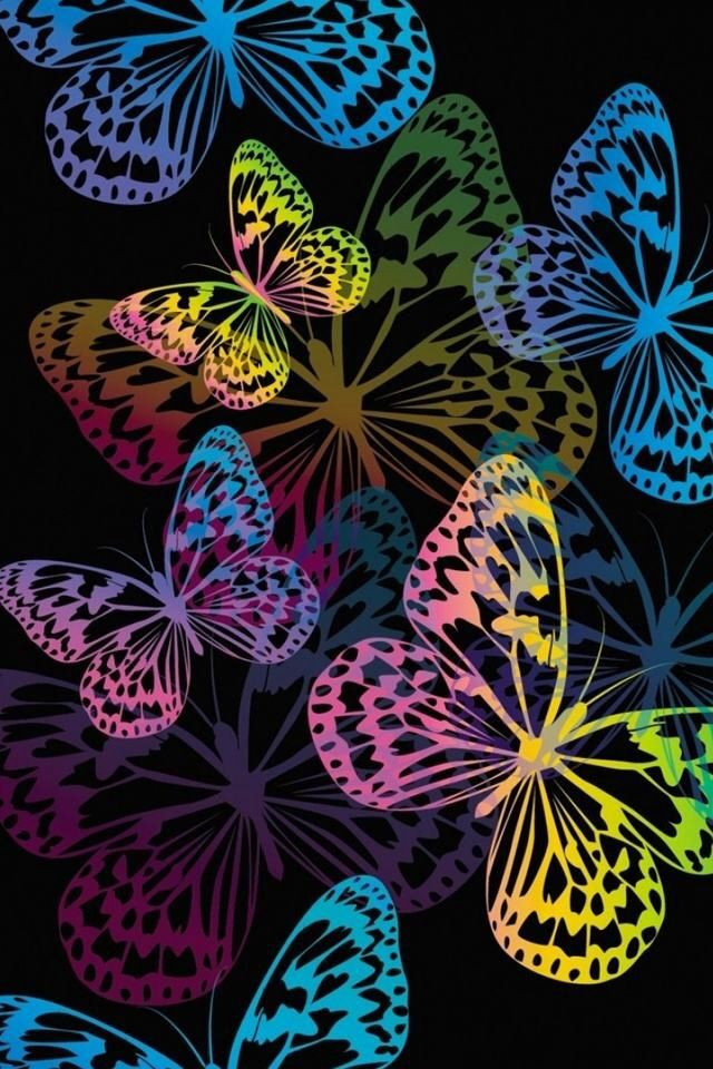 butterflies iPhone Wallpaper background Butterfly