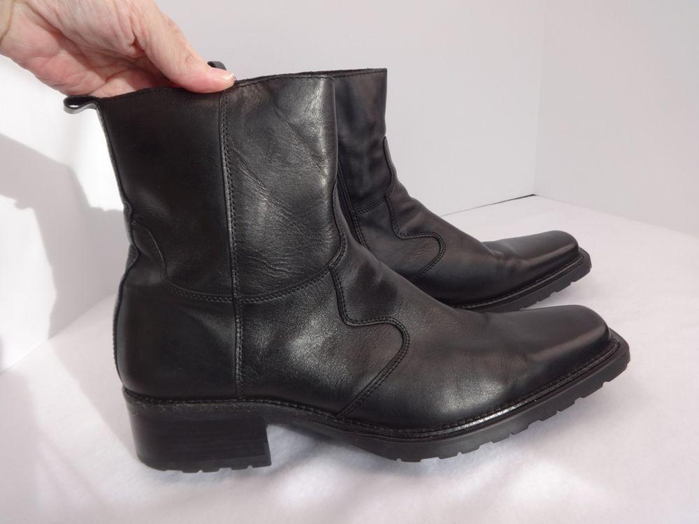 Aldo Ankle Boots Mens Size 12 EU 46 Zip