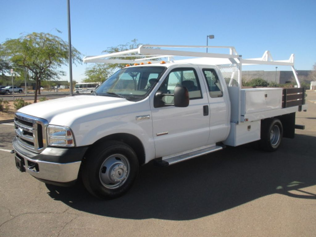 Used 2006 Ford F350 Flatbed Truck For Sale In Az 2305 Flatbed
