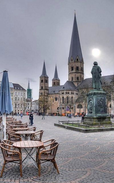 Münsterplatz Bonn, North Rhine Westphalia, Germany