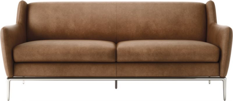 Astounding Alfred Cognac Leather Sofa Sofa Cognac Leather Sofa Creativecarmelina Interior Chair Design Creativecarmelinacom