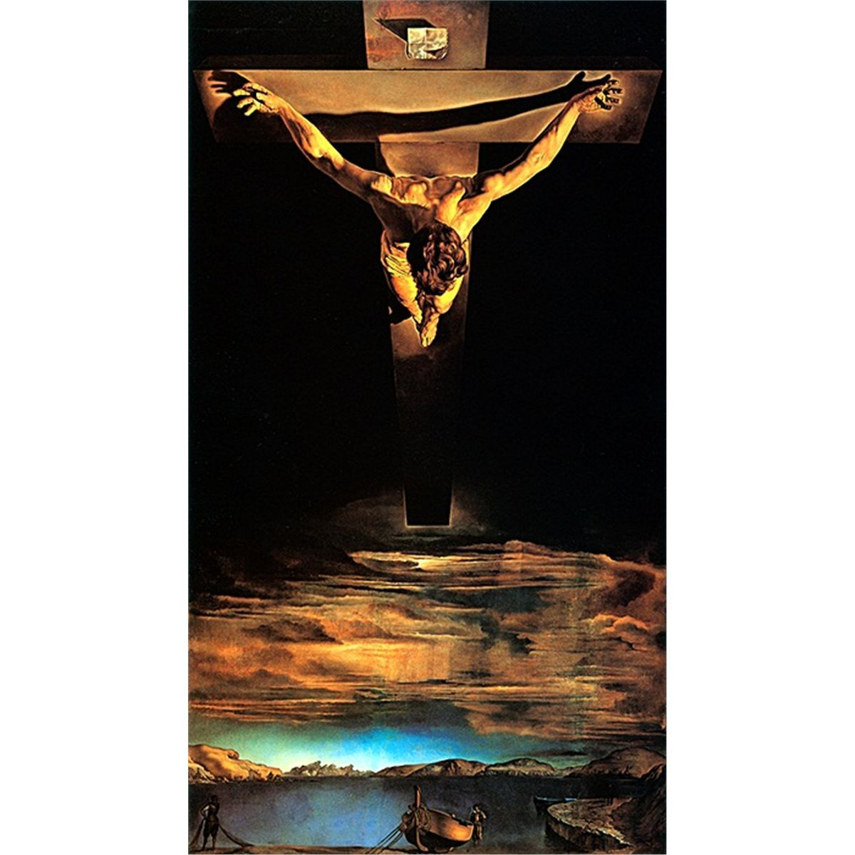 Salvador Dali -The Crucifixion of St. John of the Cross. | Famous ...