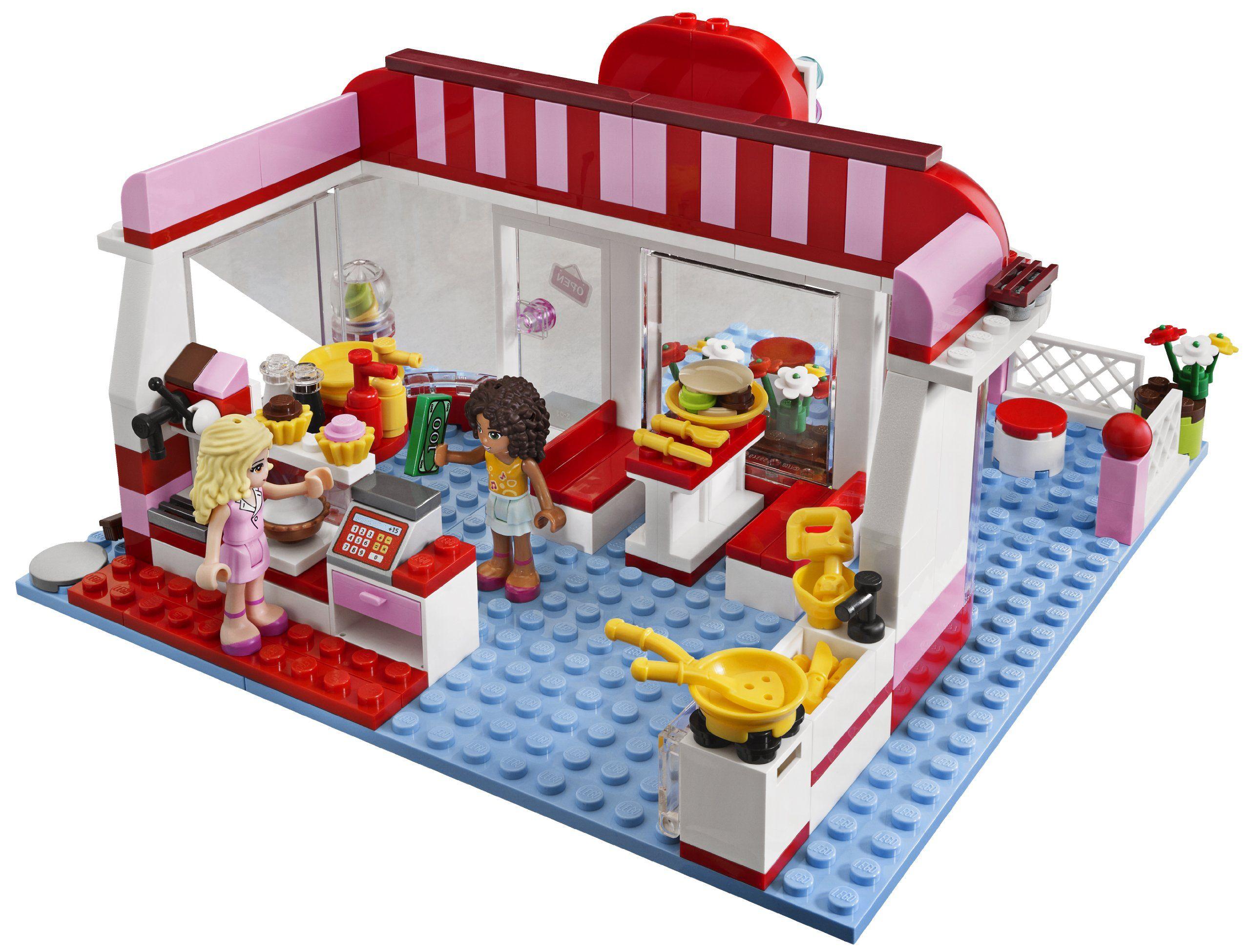 Lego Friends Cafe 3061 Kids Stuff Lego Friends Lego Friends Cafe