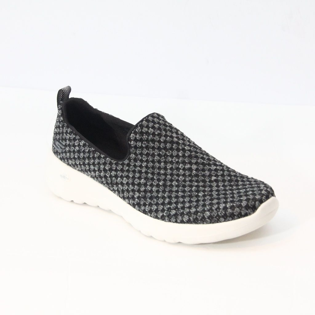 Skechers Gowalk Joy Soothe Sneakersnew Without Boxsize Us 6.5gray Black And Whiteair Cooled Gogo Mat Insolecasual Comfort Fashion Stylenew, Not Worn. The Shoes Have Marker On The Soles.