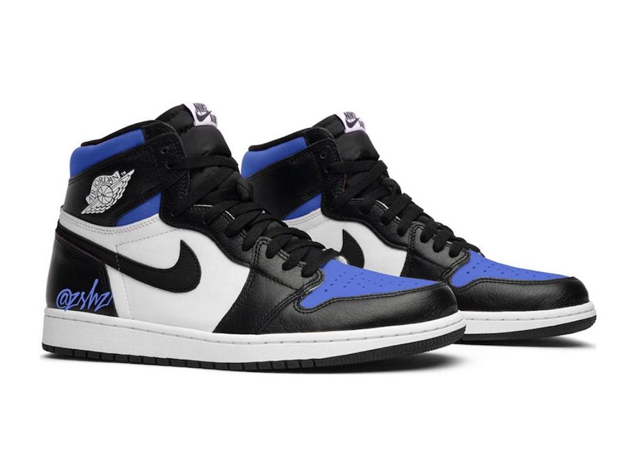 Air Jordan 1 Game Royal Toe 555088 041 Release Date Sbd With