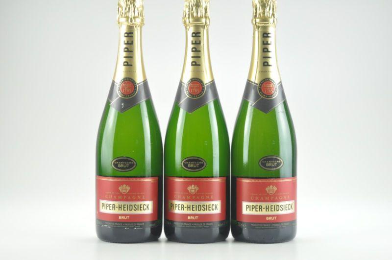 3 Bottles Piper Heidsieck Brut Champagne Ws 93 Top 100 2012