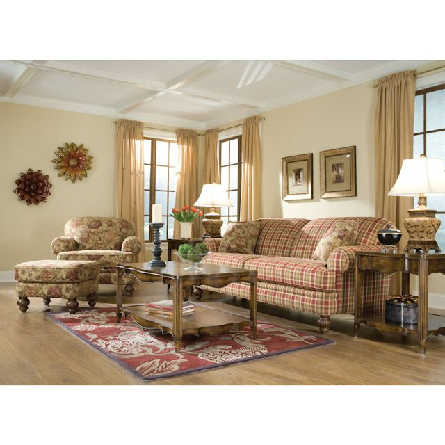 our new couch hudson street autumn living room sofa we re either rh pinterest com Plaid Living Room Furniture Sets Navy Living Room Set