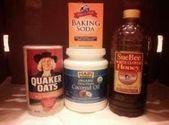 Baking soda facial peeling cleanser coconut oil 56 ide