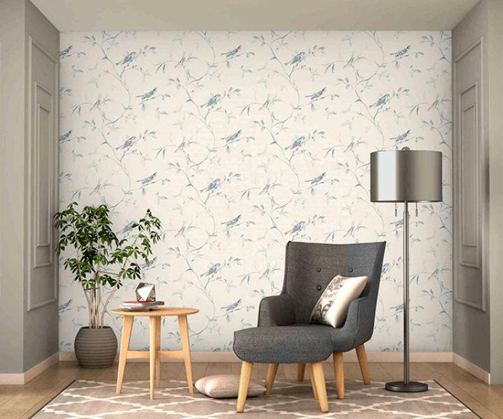 Wallpaper Room Shot Asian Paints Ve7071 In 2020 Wallpaper Designs For Walls Asian Paints Inspiration Wall