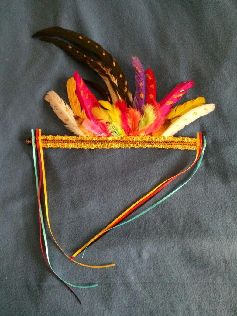 DIY Festival Headdress. #sinulog #cebuph