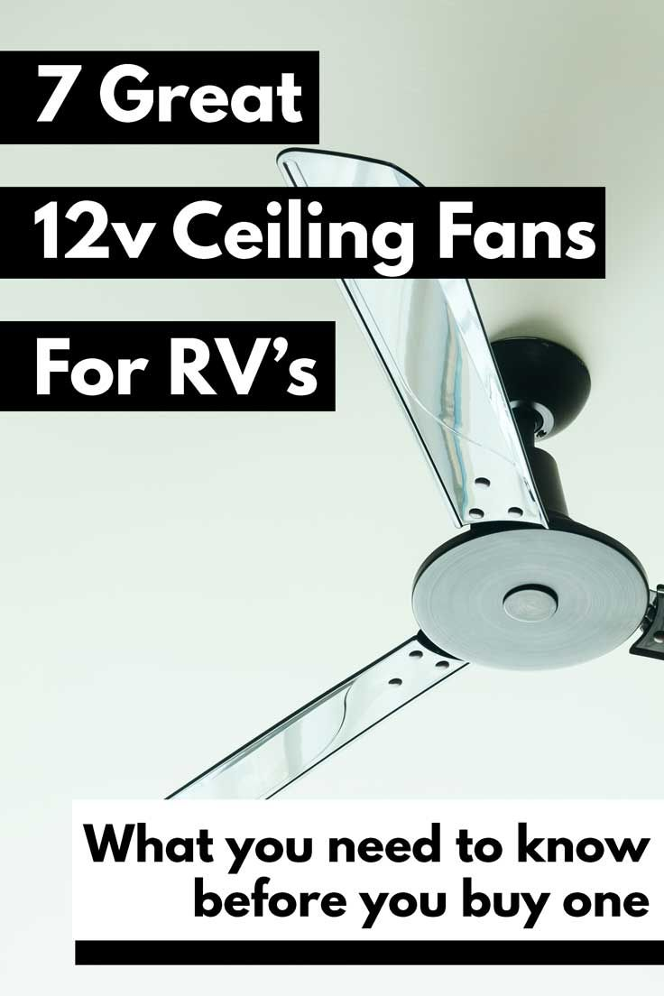 7 Great 12v Ceiling Fans for RVs And What You Need to Know Before You Buy One  Vehicle HQ 7 Great 12v Ceiling Fans for RVs And What You Need to Know Before You Buy One A...