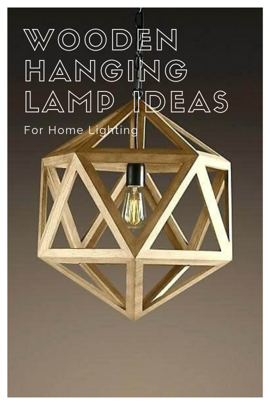 42 Amazing Diy Hanging Lamp Ideas More Cost Effective Hanging Lamp Wooden Chandelier Diy Hanging