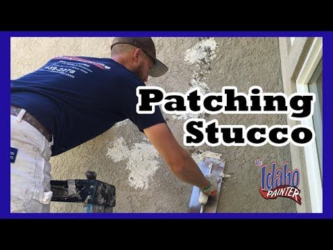 How To Patch Stucco Simple Instructions Patching Stucco Youtube Stucco Stucco Repair Stucco Patch